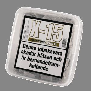 X-15 Premium White Stark Portionssnus