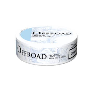 Offroad Frosted White Dry Portion