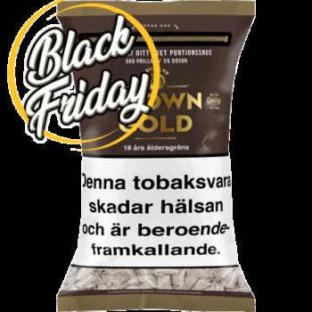 Prillan Brown Gold Softpack styck från Kungssnus - Beställ till Black Friday