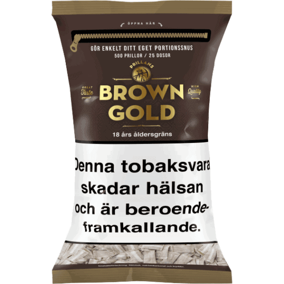 Prillan Brown Gold Portion 500 i påse