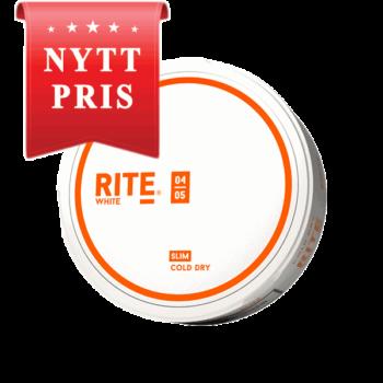 Rite Cold Dry Slim White Portionssnus