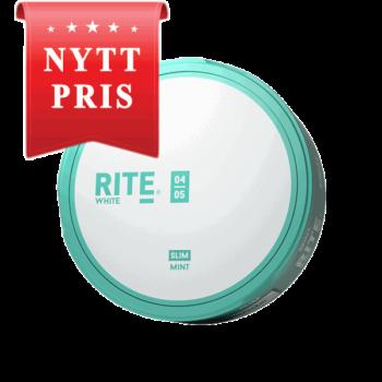 Rite Mint Slim White Portionssnus