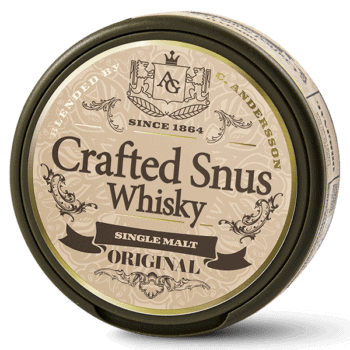 Crafted Snus Whisky Original Portion
