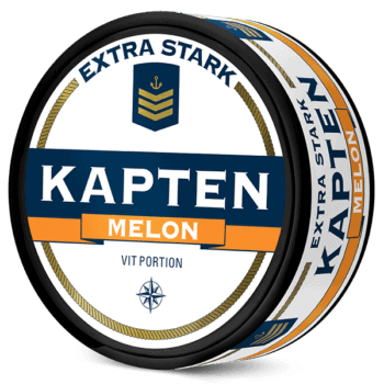 Kapten Melon Extra Stark Vit Portion
