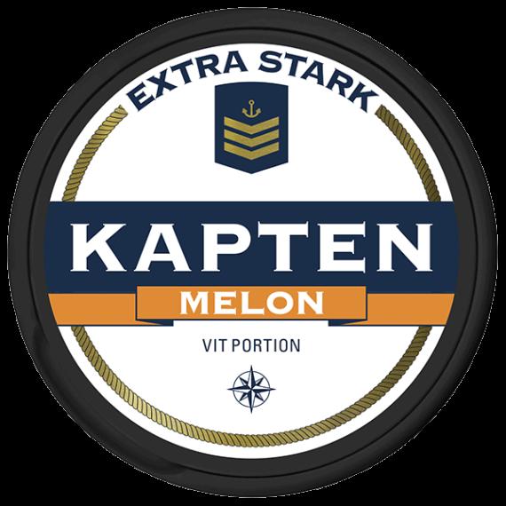 Kapten Melon Extra Stark Vit Portionssnus