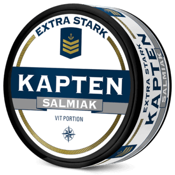 Kapten Extra Stark Salmiak Vit Portion