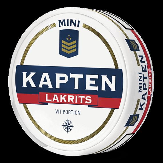 Kapten Mini Lakrits Vit Portion
