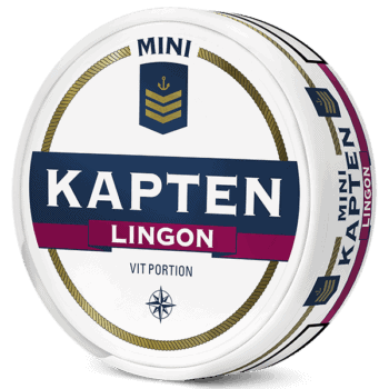 Kapten Lingon Mini Vit Portion
