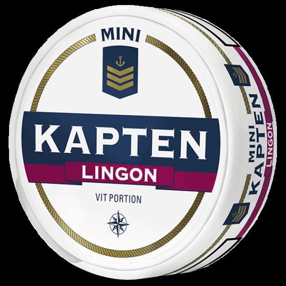 Kapten Lingon Mini Vit Portion