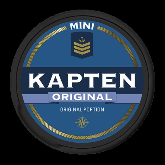 Kapten Original Mini Vit Portionssnus