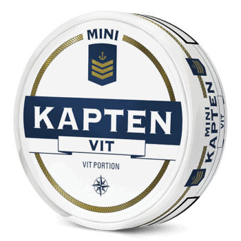 Kapten Mini Vit Portion