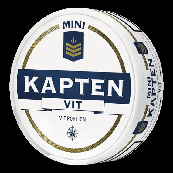 Kapten Mini Vit Portion