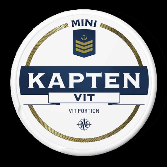 Kapten Mini Vit Portionssnus