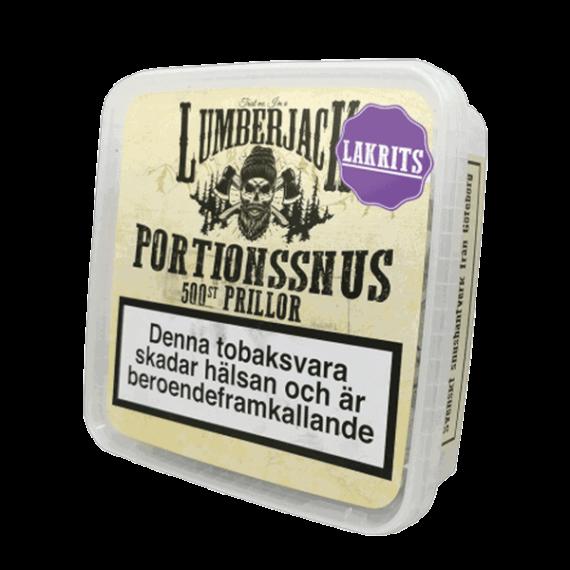Lumberjack Lakrits Portion