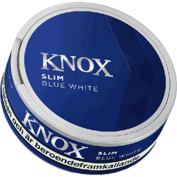 Skruf Knox Blue Slim White Portion