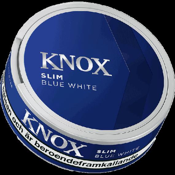 Skruf Knox Blue Slim White Portion