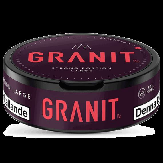 Fiedler & Lundgren Granit Strong Portionssnus - Beställ snuset från Snusfabriken.com