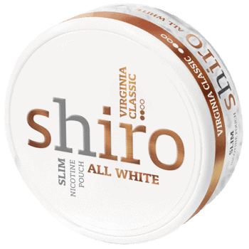 Shiro Virginia Classic All White Slim