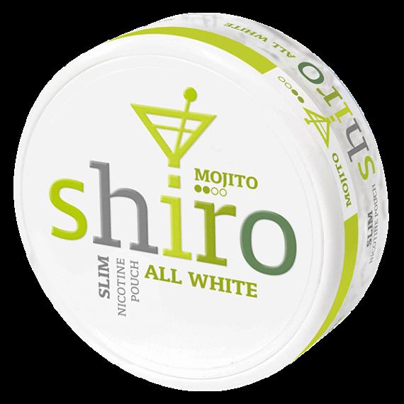 Shiro Mojito All White Slim
