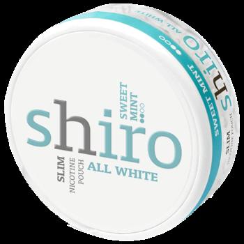Shiro Sweet Mint All White Slim