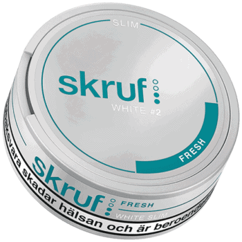 Skruf Fresh Slim White Portion