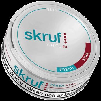 Skruf Fresh Xtra Stark Slim White Portion