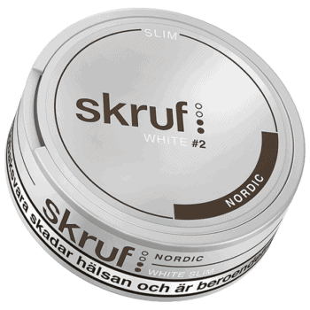 Skruf Nordic Slim White Portion