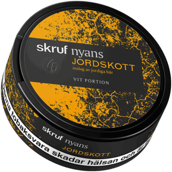 Skruf Nyans Jordskott White Portion