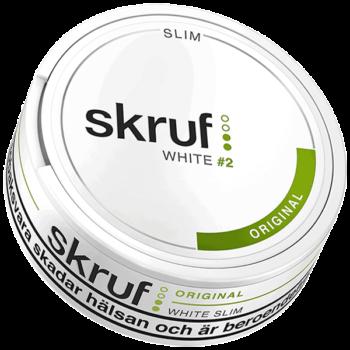 Skruf Original Slim White Portion