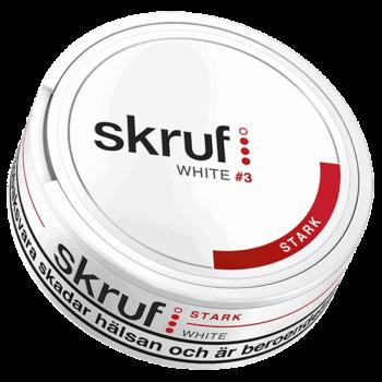 Skruf Stark White Portion
