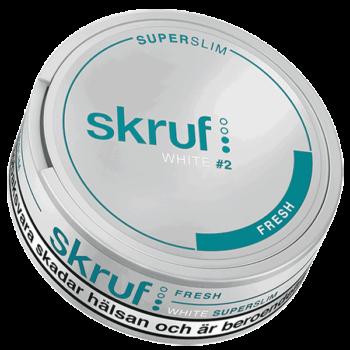 Skruf Fresh Superslim White Portion