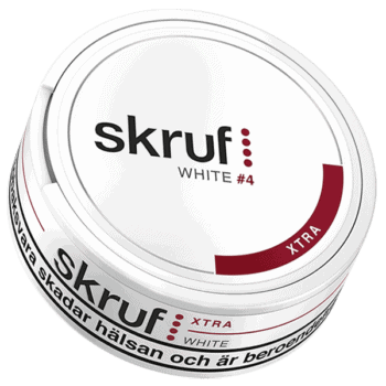 Skruf Xtra Stark White Portion