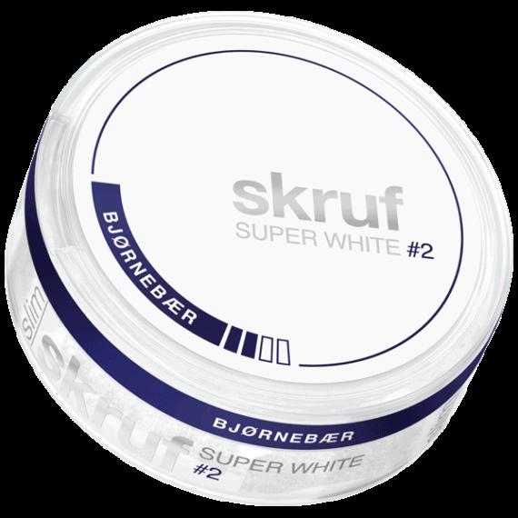 Skruf Super White #2 Björnbär