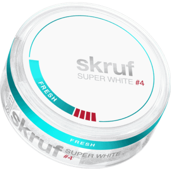 Skruf Super White #4 Fresh