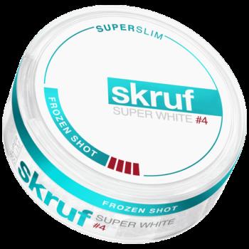 Skruf Super White #4 Frozen Shot