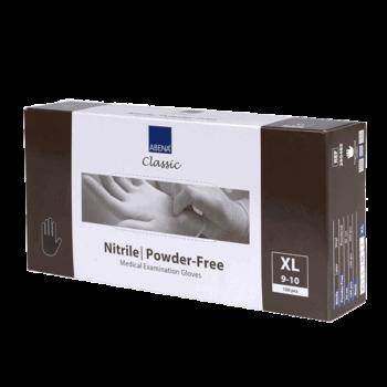 Engångshandskar, nitril puderfria X-Large