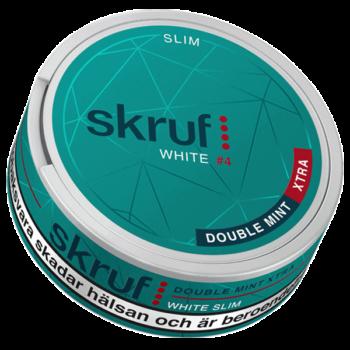 Skruf White #4 Double Mint Xtra