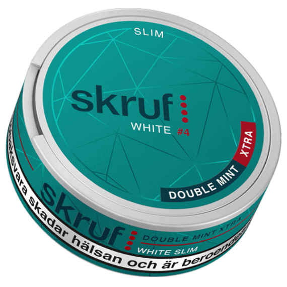 Skruf White #4 Double Mint Xtra