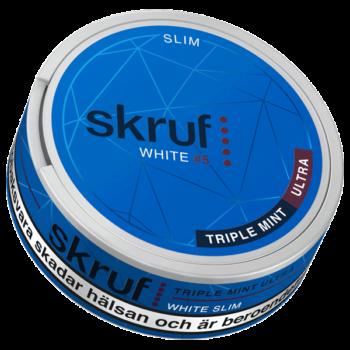 Skruf White #5 Triple Mint Ultra