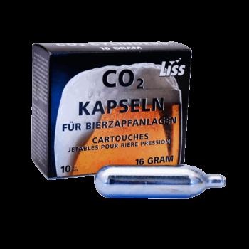 kolsyrepatroner 10 pack