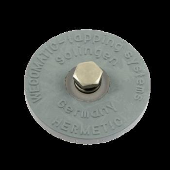 Gummipropp med säkerhetsventil