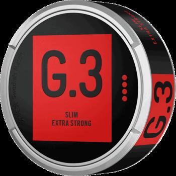General G.3 Original Slim Extra Strong Portionssnus