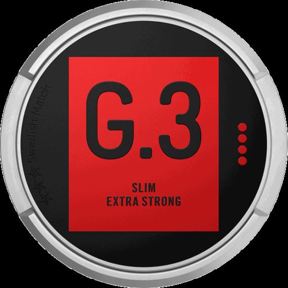 General G.3 Original Slim Extra Strong Portion