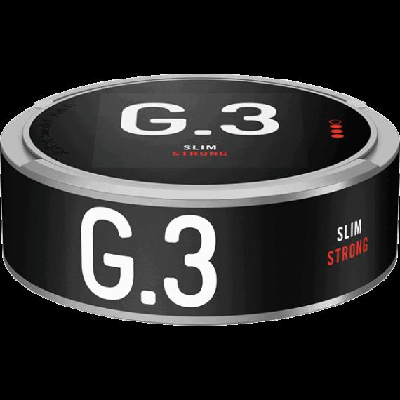 General G.3 Original Slim Strong Portionssnus