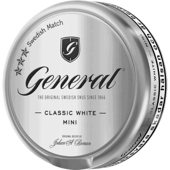 General White Mini Portionssnus