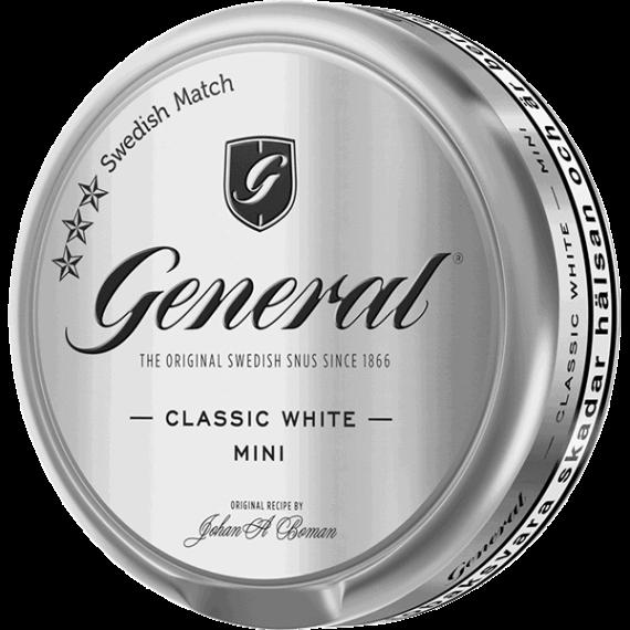 General White Mini Portionssnus