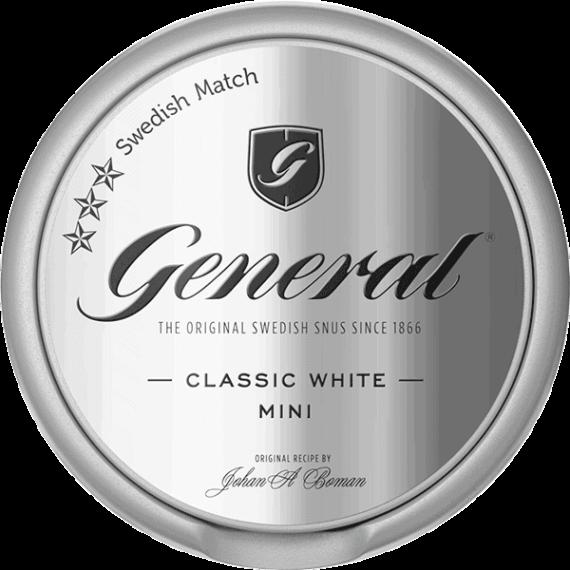 General White Mini Portion