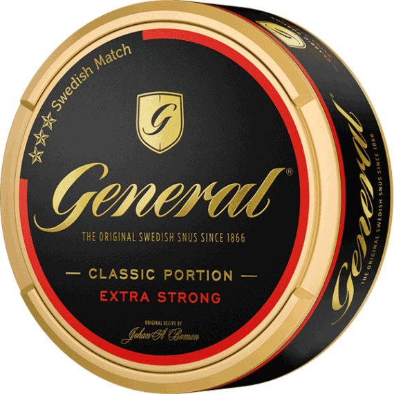 General Original Extra Strong Portionssnus