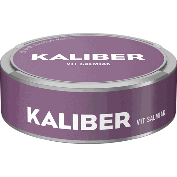 Kaliber Salmiak White Portionssnus
