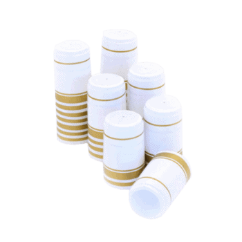 Krympkapsyl Vit-Guld 30-Pack